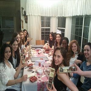 סדנאות שוקולד למסיבת רווקות